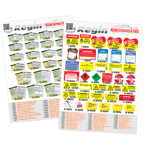 POS POSTERS pads & stickers 2 pack